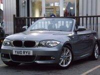 2010 BMW 1 SERIES 2.0 120D M SPORT 2d 175 BHP £8995.00