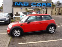 USED 2011 11 MINI HATCH ONE 1.6 ONE 3d 98 BHP SERVICE HISTORY