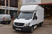 USED 2014 14 MERCEDES-BENZ SPRINTER 2.1 313 CDI 2d 129 BHP RWD LWB HIGH ROOF DIESEL LUTON MANUAL VAN  ONE OWNER FULL S/H LOVELY DRIVE