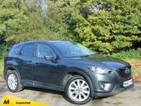 USED 2013 63 MAZDA CX-5 2.2 D SPORT NAV 5d 173 BHP * 128 POINT AA INSPECTED *