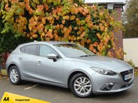 USED 2015 64 MAZDA 3 2.2 D SE-L NAV 5d  * 128 POINT AA INSPECTED *