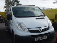 2009 VAUXHALL VIVARO 2.0 2900CDTI LWB SHR 1d 114 BHP FITTED GLASS RACK £SOLD