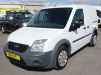 2013 FORD TRANSIT CONNECT 1.8 T200 LR 1d 74 BHP VAN ONLY 67000 MILES **NO VAT** £5995.00