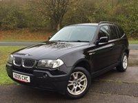 2005 BMW X3 2.0 D SE 5d 148 BHP 4WD PRIVACY PDC FSH £3490.00