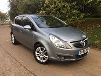 USED 2010 60 VAUXHALL CORSA 1.2 SXI A/C 5d 83 BHP PLEASE CALL TO VIEW