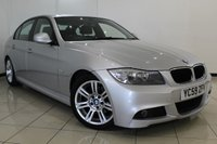 USED 2009 59 BMW 3 SERIES 2.0 318D M SPORT 4DR AUTOMATIC 141 BHP CLIMATE CONTROL + CRUISE CONTROL + MULTI FUNCTION WHEEL + RADIO/CD + 17 INCH ALLOY WHEELS