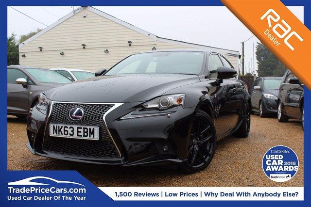 View our 2013 LEXUS IS 2.5 300H F SPORT 4d 220 BHP