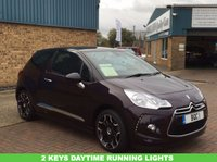 USED 2014 64 CITROEN DS3 1.6 DSTYLE PLUS 3d 120 BHP A Stunning DS3 with Daytime Running Lights, Aux Point, 2 keys Air Con, And So Much More !!