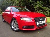 2011 AUDI A4 2.0 TDI TECHNIK 4d 168 BHP £9990.00