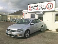 USED 2012 62 VOLKSWAGEN PASSAT 2.0 SE TDI BLUEMOTION TECHNOLOGY 4d 139 BHP £37 PER WEEK NO DEPOSIT, SEE FINANCE LINK BELOW