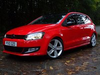 USED 2010 10 VOLKSWAGEN POLO 1.2 SEL TSI 3d 103 BHP