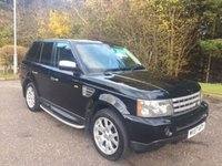 USED 2007 57 LAND ROVER RANGE ROVER SPORT 2.7 TDV6 SPORT HSE 5d AUTO 188 BHP 6 MONTHS PARTS+ LABOUR WARRANTY+AA COVER