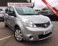 2012 NISSAN NOTE 1.5 dci visia £4699.00