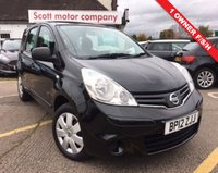 2012 NISSAN NOTE 1.5 dci visia  £3999.00