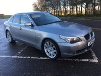 USED 2006 BMW 5 SERIES 2.0 520D SE 4d 161 BHP GREAT LOOKING 520D IN DOLPHIN GREY WITH SPIDER ALLOYS