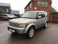 2011 LAND ROVER DISCOVERY 3.0 4 SDV6 GS 5d AUTO 245 BHP £16995.00