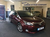 USED 2012 61 TOYOTA AVENSIS 2.0 T SPIRIT D-4D 5d 124 BHP Massive Spec and Full Toyota History