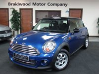 2012 MINI HATCH COOPER 1.6 COOPER 3d 122 BHP £7999.00