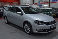 USED 2014 64 VOLKSWAGEN PASSAT 2.0 EXECUTIVE TDI BLUEMOTION TECHNOLOGY 5d 139 BHP