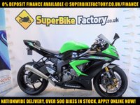 USED 2014 14 KAWASAKI ZX-6R 600cc 0% DEPOSIT FINANCE AVAILABLE GOOD AND BAD CREDIT ACCEPTED, OVER 500+ BIKES IN STOCK