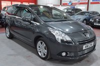 USED 2011 11 PEUGEOT 5008 2.0 HDI EXCLUSIVE 5d 150 BHP