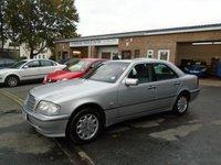 1998 MERCEDES-BENZ C CLASS 2.0 C200 ELEGANCE 4d AUTO 134 BHP £595.00