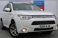USED 2014 64 MITSUBISHI OUTLANDER 0.0 PHEV GX 4H 5d AUTO 162 BHP **ONE OWNER FROM NEW**