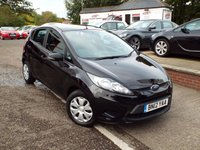 USED 2012 12 FORD FIESTA 1.2 STUDIO 5d 59 BHP ONE Owner Service History