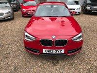 2012 BMW 1 SERIES 1.6 116I SPORT 5d 135 BHP £11000.00