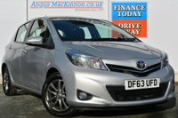 USED 2014 63 TOYOTA YARIS 1.3 VVT-I ICON PLUS 5d AUTO 99 BHP **ONE OWNER FROM NEW**