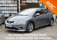 USED 2011 61 HONDA CIVIC 1.3 I-VTEC TYPE S I-SHIFT 3d AUTO 98 BHP