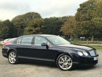2010 BENTLEY CONTINENTAL FLYING SPUR 6.0 FLYING SPUR 4d AUTO 552 BHP £38500.00