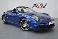 USED 2008 58 PORSCHE 911 3.6 TURBO TIPTRONIC S 2d AUTO 474 BHP