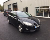USED 2013 63 FORD FOCUS 1.6 TDCI TITANIUM X NAVIGATOR 115 BHP THIS VEHICLE IS AT SITE 1 - TO VIEW CALL US ON 01903 892224