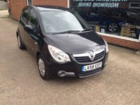 2008 VAUXHALL AGILA 1.2 CLUB CDTI 5 DOOR 73 BHP DIESEL IN BLACK £2490.00