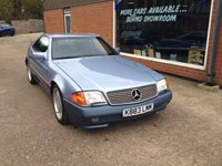 1992 MERCEDES-BENZ SL 3.0 300 SL-24 2d AUTO 231 BHP STUNNING CONDITION WITH HARD TOP IN BLUE £7490.00