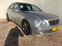 2005 MERCEDES-BENZ C CLASS 2.1 C220 CDI AVANTGARDE SE 4d AUTO 148 BHP £2999.00