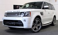 USED 2012 12 LAND ROVER RANGE ROVER SPORT 3.0 SDV6 AUTOBIOGRAPHY SPORT 5d AUTO 255 BHP *REAR ENTERTAINMENT-TV/MOVIES*