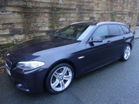 USED 2011 61 BMW 5 SERIES 2.0 520D M SPORT TOURING 5d AUTO 181 BHP