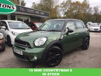 2014 MINI COUNTRYMAN 2.0 COOPER SD 5d 141 BHP £11489.00