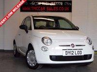 2012 FIAT 500 1.2 POP 3d 69 BHP £4500.00