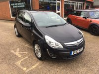 2013 VAUXHALL CORSA 1.4 SE 5 DOOR  98 BHP IN MET GREY WITH ONLY 42889 MILES £5290.00