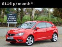 2014 SEAT IBIZA 1.4 TOCA 3d 85 BHP £6450.00
