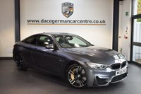 USED 2015 65 BMW M4 3.0 M4 2DR AUTO 426 BHP + FULL MERINO BLACK LEATHER INTERIOR + FULL BMW SERVICE HISTORY + PRO SATELLITE NAVIGATION + CARBON CERAMIC BRAKES + HEATED SPORT SEATS WITH MEMORY + XENON LIGHTS + PARK ASSIST + HEADS-UP DISPLAY + HARMAN/KARDON SPEAKERS + HEATED STEERIG WHEEL + REVERSE CAMERA + 19 INCH ALLOY WHEELS +