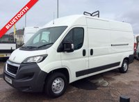 USED 2015 15 PEUGEOT BOXER LWB 2.2 HDI 335 L3H2 P/V 130 BHP 1 OWNER FSH MANUFACTURER'S WARRANTY BLUETOOTH ELECTRIC WINDOWS AND MIRRORS MULTI FUNCTIONAL STEERING WHEEL 6 SPEED SPARE KEY