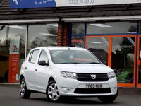 USED 2013 63 DACIA SANDERO 1.1 AMBIANCE 5dr  *ONLY 9.9% APR*