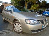 2004 NISSAN ALMERA 1.8 S 5d AUTO 114 BHP £895.00