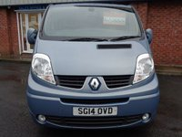 USED 2014 14 RENAULT TRAFIC 2.0 SL27 SPORT DCI S/R P/V 1d 115 BHP