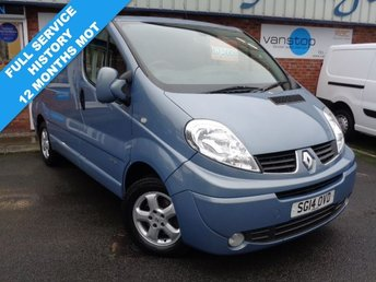 2014 RENAULT TRAFIC 2.0 SL27 SPORT DCI S/R P/V 1d 115 BHP £7500.00