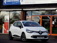 USED 2014 64 RENAULT CLIO 0.9 TCE DYNAMIQUE MEDIANAV ENERGY 5dr  *ONLY 9.9% APR with FREE Servicing*